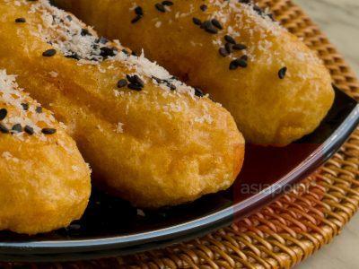 Gebackene Bananen (Pisang Goreng)