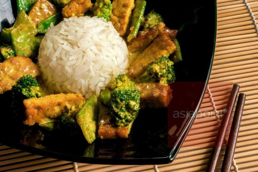 Tempeh-Kurkuma-Curry
