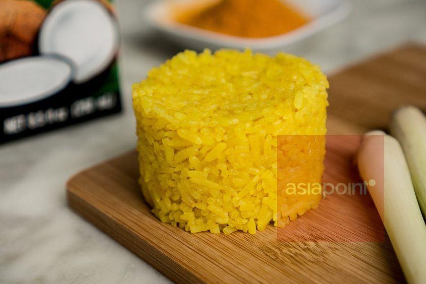 Gelber Reis (Nasi Kuning)