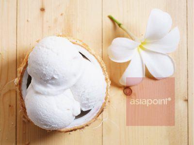 Kardamom-Kokos-Eis